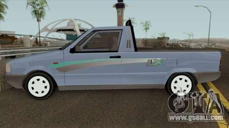 Fiat Fiorino LX for GTA San Andreas left view
