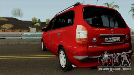 Opel Zafira Diesel for GTA San Andreas