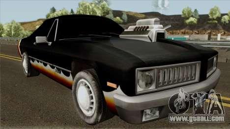 Diablo Stallion HD for GTA San Andreas