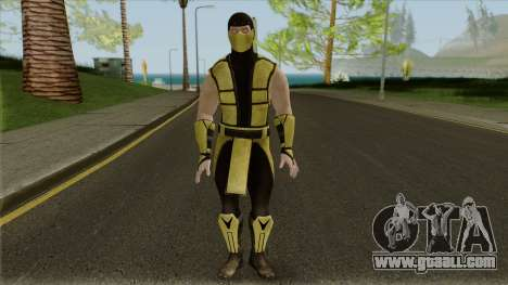 Mortal Kombat X Klassic Scorpion for GTA San Andreas