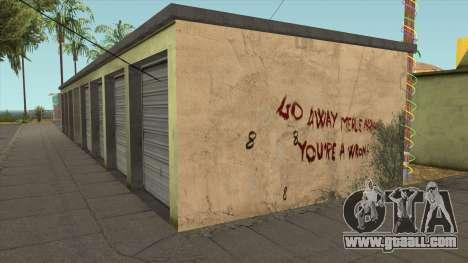 The Infinity Killer Merle Abrahams (GTA 5 Wall) for GTA San Andreas