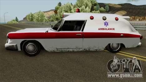 Old Ambulance for GTA San Andreas