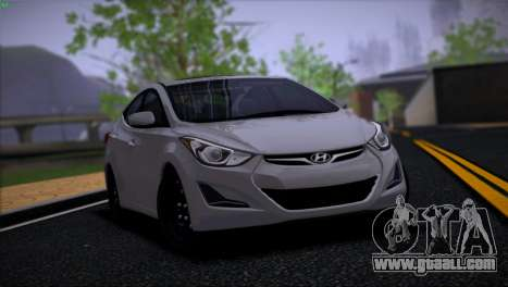 Hyundai Elantra for GTA San Andreas