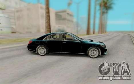 Mercedes-Benz W222 for GTA San Andreas