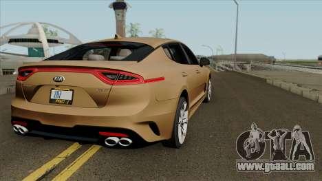 KIA Stinger GT for GTA San Andreas