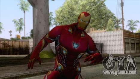 Marvel Future Fight - Iron Man (Infinity War) for GTA San Andreas