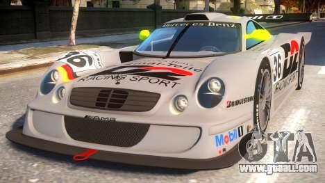 Mercedes-Benz CLK for GTA 4