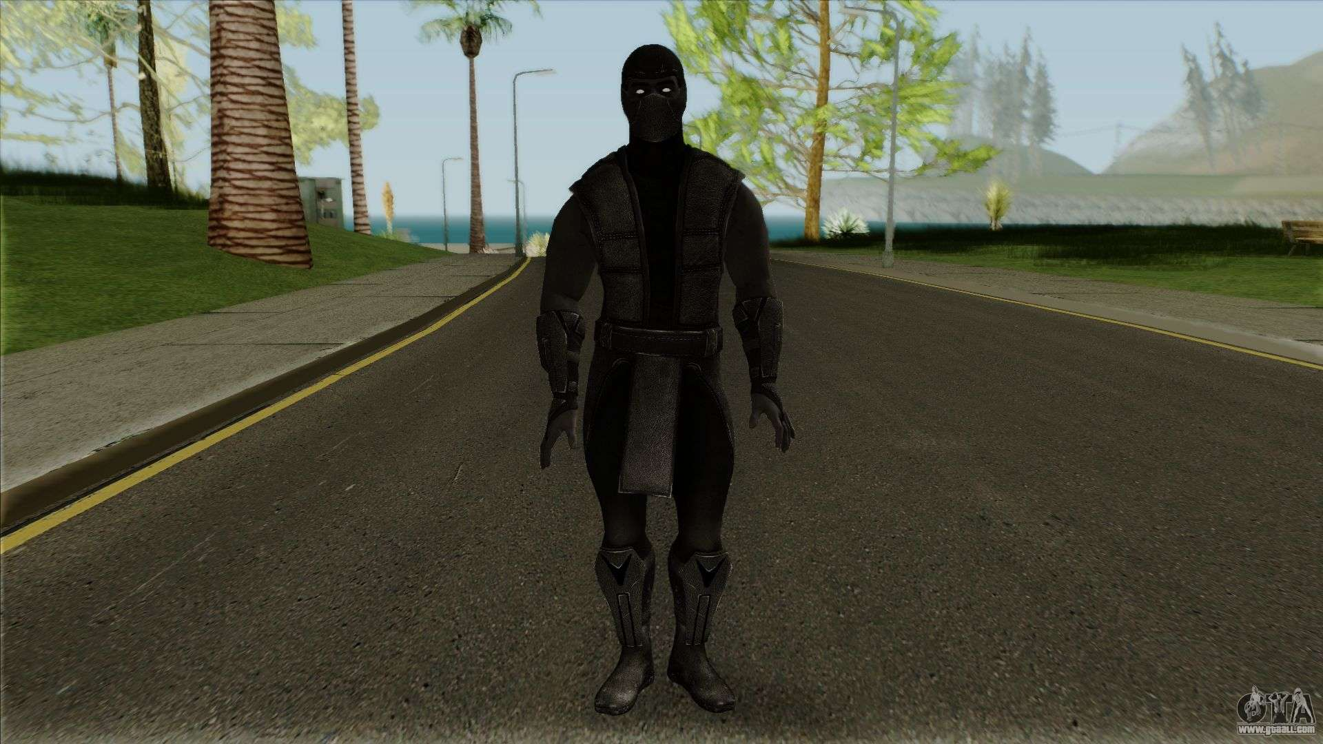 Mortal Kombat X Klassic Noob Saibot for GTA San Andreas