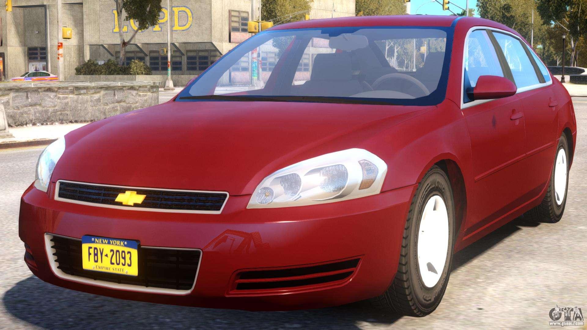 2006 chevrolet impala ls for gta 4. Black Bedroom Furniture Sets. Home Design Ideas