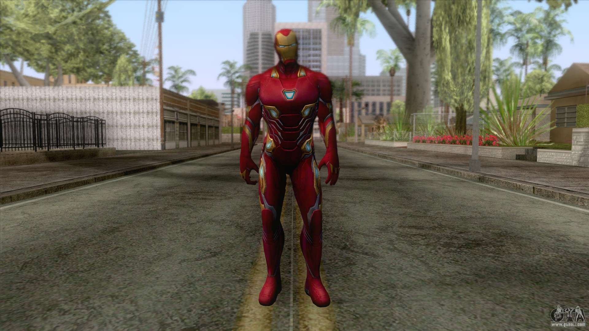 Marvel Future Fight - Iron Man (Infinity War) for GTA San