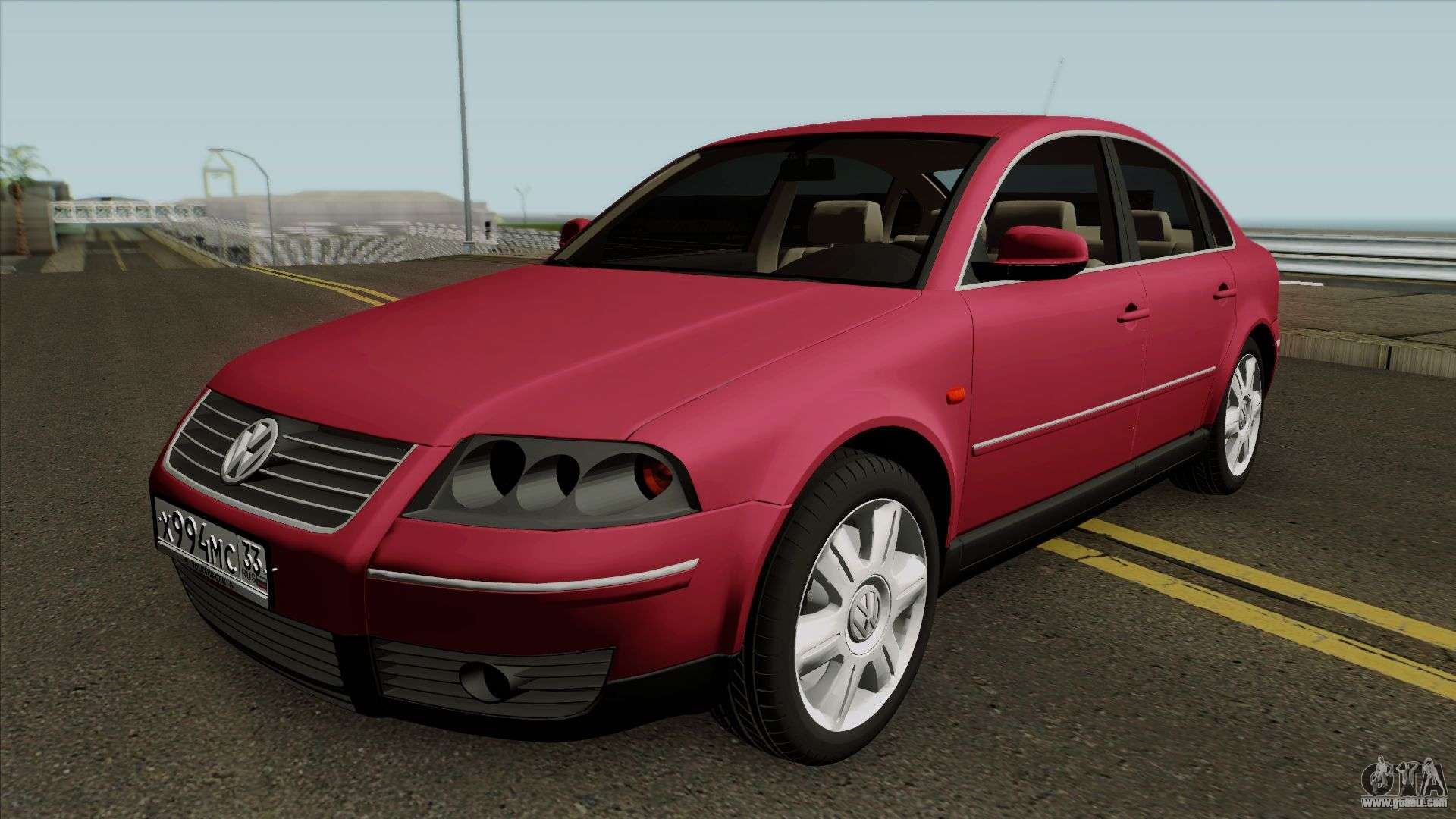 volkswagen passat b5 w8 for gta san andreas. Black Bedroom Furniture Sets. Home Design Ideas