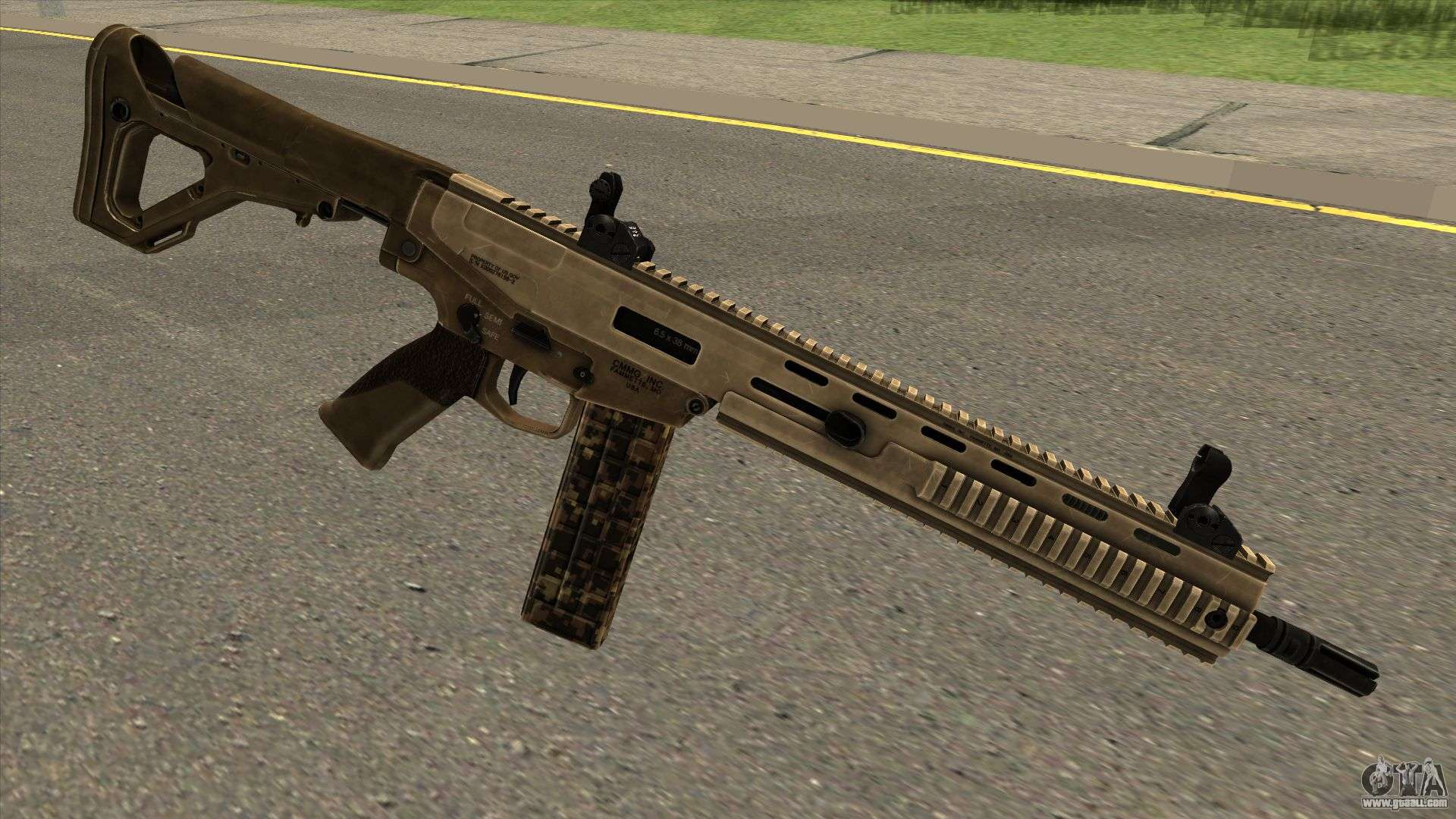 Mx 6 5mm From Arma 3 For Gta San Andreas