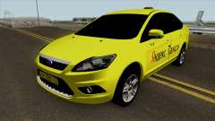 Ford Focus 2 Sedan 2009 Yandex Taxi