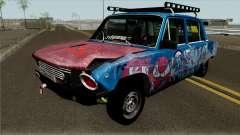 """VAZ 2101 """"Combat Classics"""" for GTA San Andreas"""