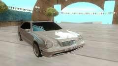 Mercedes-Benz E55 W210 белый for GTA San Andreas