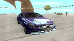Mercedes-Benz CLS63 for GTA San Andreas