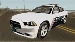 Dodge Charger Red County Sheriff Office 2013
