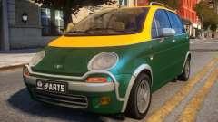 1997 Daewoo dArts City Concept for GTA 4