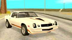 Chevy Camaro 1977 for GTA San Andreas