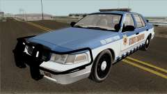 Ford Crown Victoria 2011 Red County Police