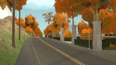 Autumn Leaves on Trees v1.0 for GTA San Andreas