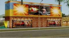 Boxing Club Rocky Balboa on Grove Street for GTA San Andreas