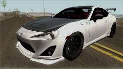Toyota GT86 GRMN Edited for GTA San Andreas