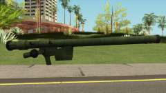 SA-16 from Warface for GTA San Andreas