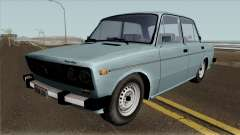 VAZ 2106 SA style Full Tuning for GTA San Andreas