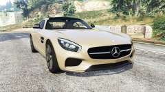 Mercedes-AMG GT (C190) 2016 v2.2 [replace] for GTA 5