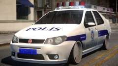 Fiat Albea Turk Police for GTA 4