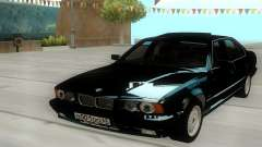 BMW 525i E34 Black for GTA San Andreas