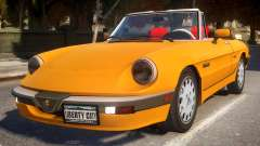 1986 Alfa Romeo Spider 115 v1.0 for GTA 4