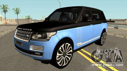 Land Rover Range Rover SVA for GTA San Andreas