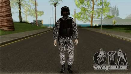 The employee of SOBR for GTA San Andreas