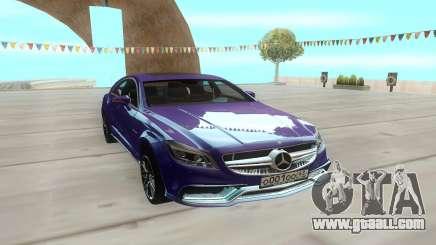 Mercedes-Benz CLS63 for GTA San Andreas