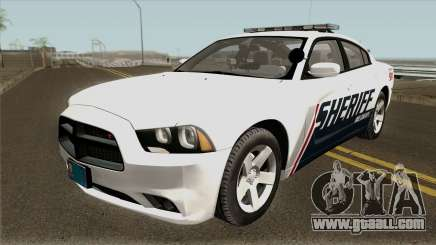 Dodge Charger Red County Sheriff Office 2013 for GTA San Andreas