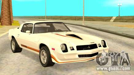 Chevy Camaro 1977 for GTA San Andreas