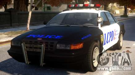 GTA 5 Vapid Police for GTA 4