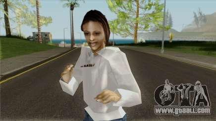 The girl in the sweatshirt for GTA San Andreas