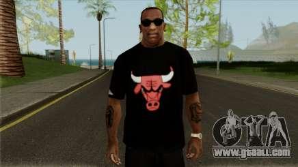 """T-Shirt """"Bulls"""" for GTA San Andreas"""