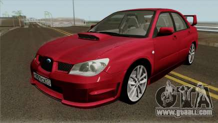Subaru Impreza WRX STI 2004 for GTA San Andreas