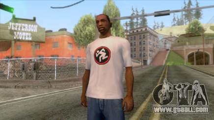 New CJ t-shirt D. R. I. for GTA San Andreas