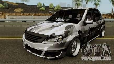 Dacia Logan Stance for GTA San Andreas