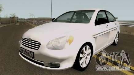 Hyundai Accent 2007 for GTA San Andreas