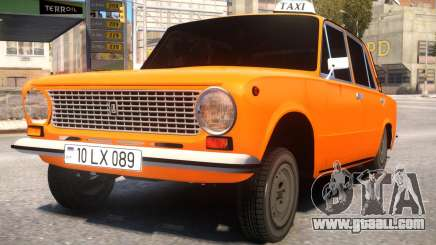 VAZ 21011 Taxi Style By Nicat for GTA 4