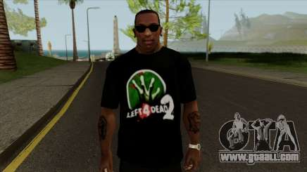 T-Shirt Let 4 Dead 2 for GTA San Andreas