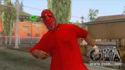 Crips & Bloods Ballas Skin 6 for GTA San Andreas