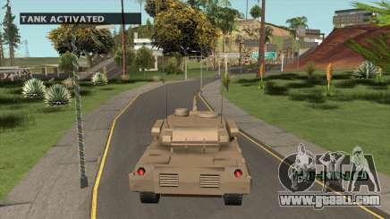 Spawn Tank for GTA San Andreas