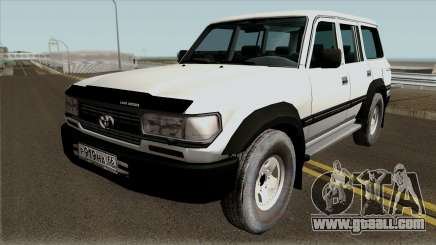 Toyota Land Cruiser 80 1995 for GTA San Andreas